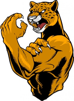 Combattant jaguar