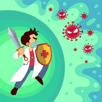 Combattre le concept de virus