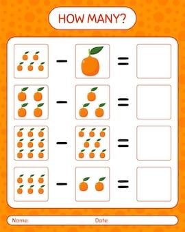 Combien de jeux de comptage imbe. feuille de travail pour les enfants d'âge préscolaire, feuille d'activité pour enfants, feuille de travail imprimable