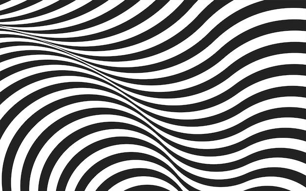 Combinaison abstraite de fond gris foncé avec décoration de ligne blanche