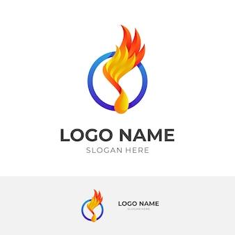 Combinaison de conception de logo et d'ailes de mélodie, icône simple