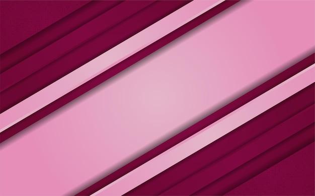 Combinaison de fond rose dégradé abstrait avec du rouge