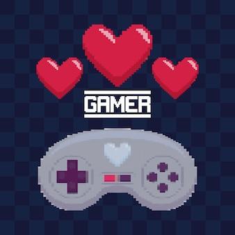 Commande de jeu vidéo classique