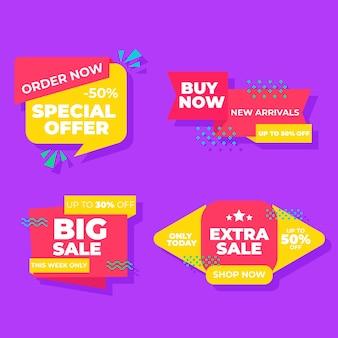 Commandez maintenant la collection de bannières spéciales de vente