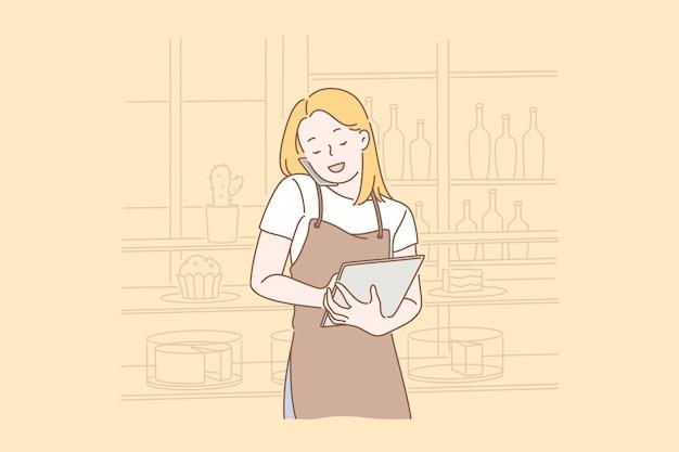 Commandez de la nourriture en ligne.