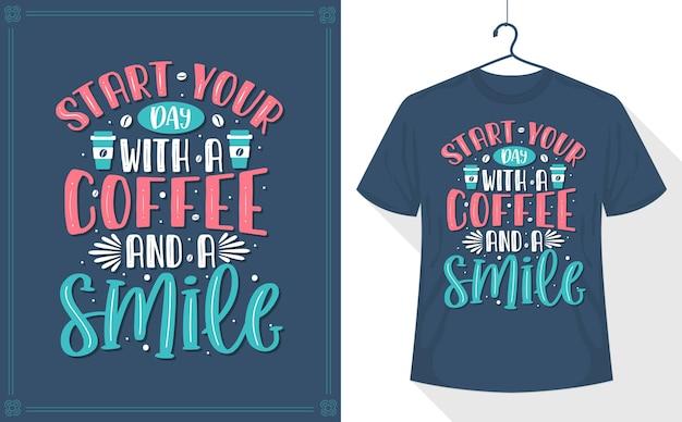 Commencez votre journée avec un café et un sourire