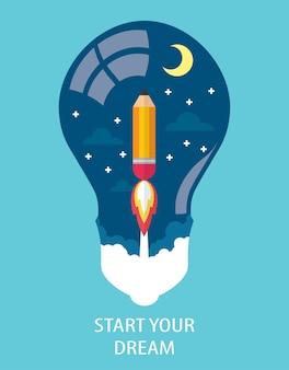 Commencez votre rêve