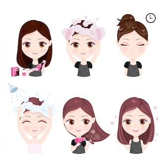Comment changer la couleur des cheveux