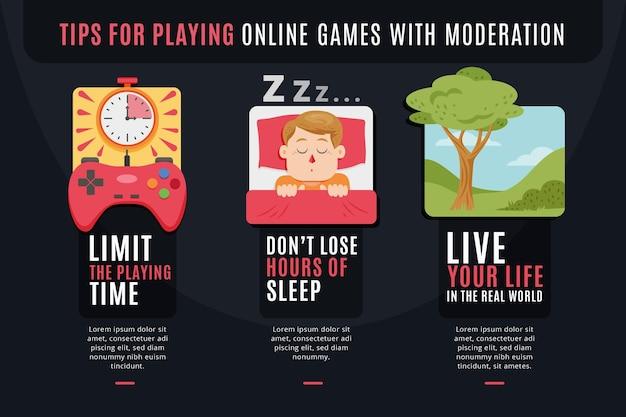Comment jouer à des jeux avec des idées de modération