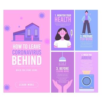 Comment laisser le coronavirus derrière vous quand vous rentrez chez vous