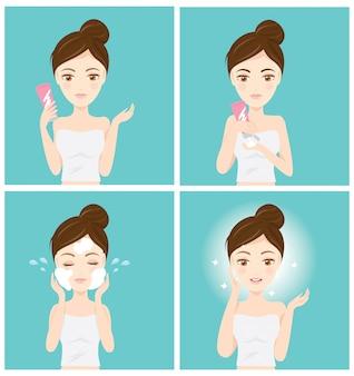 Comment nettoyer votre visage
