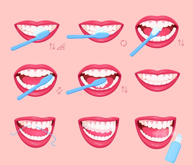 Comment se brosser les dents instructions