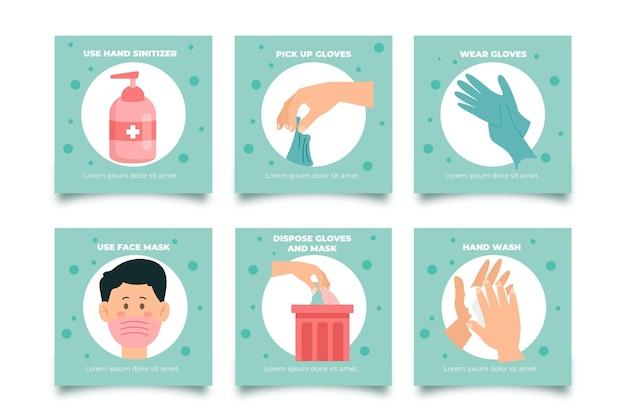 Comment utiliser les articles instagram des produits sanitaires
