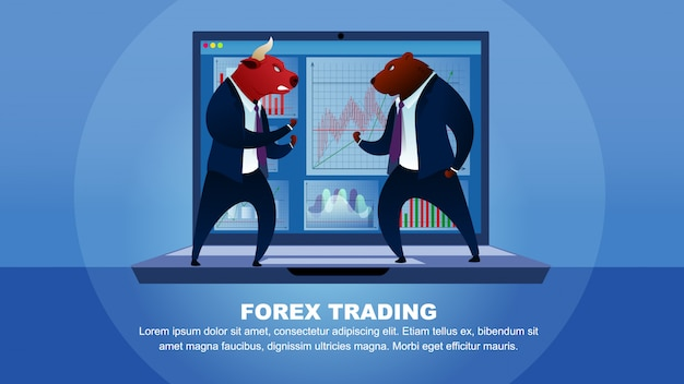 Commerce bourse marché forex trading global money