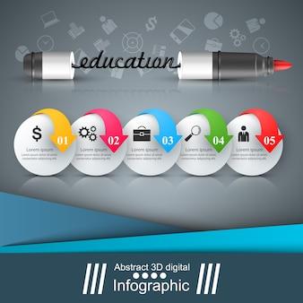 Commission scolaire - illustration vectorielle école et éducation.