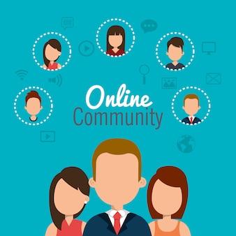 Communauté en ligne