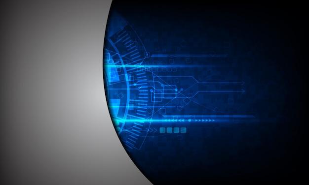 Communication de fond technologie abstraite