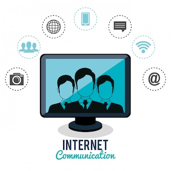 Communication internet