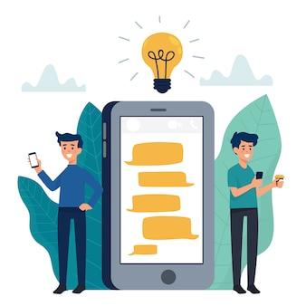 Communication en ligne