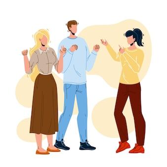 Communication des personnes sourdes langue des signes
