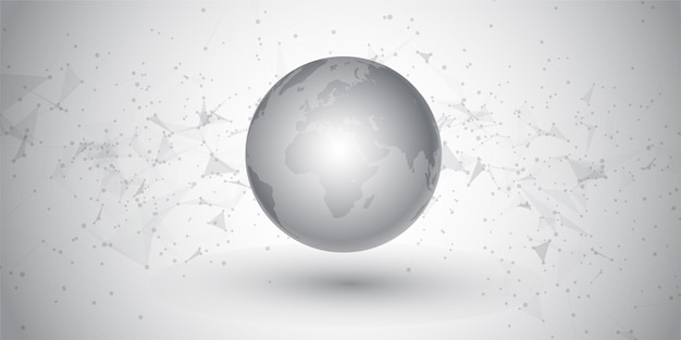 Communications réseau abstraites et conception de globe