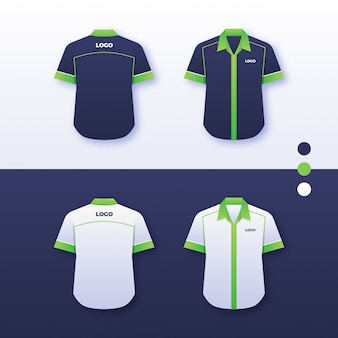 Compagnie uniforme shirt design