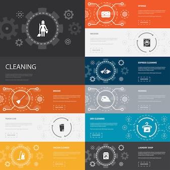 Compétences d'équipe conception infographique avec des icônes de communication de travail d'équipe de coopération de collaboration
