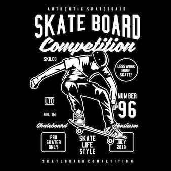 Compétition de planche à roulettes