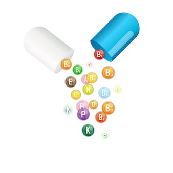 Complexe de vitamines et d'antioxydants