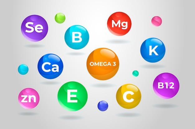 Complexe de vitamines essentielles
