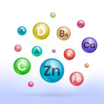 Complexe de vitamines et minéraux essentiels zoom