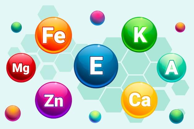 Complexe de vitamines et minéraux essentiels