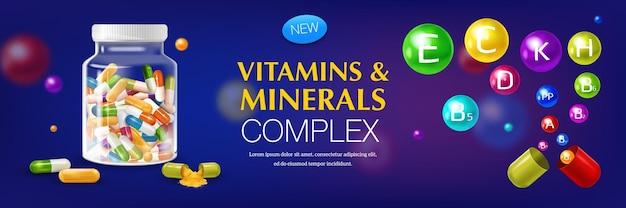 Complexe de vitamines et minéraux
