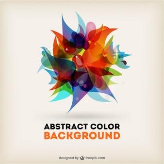Composition abstraite vecteur de fond