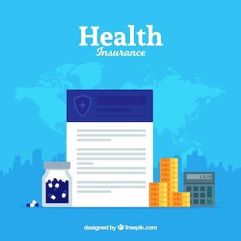 Composition de l'assurance maladie internationale