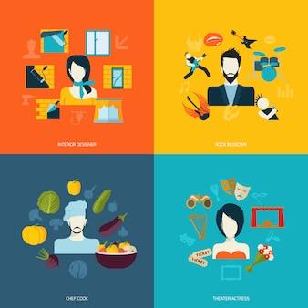 Composition d'avatars et d'éléments