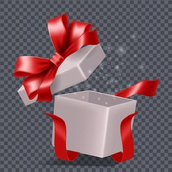 Composition de boîte cadeau magique colorée de dessin animé