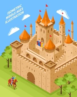 Composition du château royal
