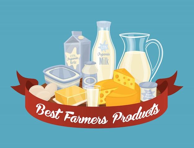 Composition du lait laitier