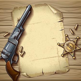 Composition d'étoiles du shérif