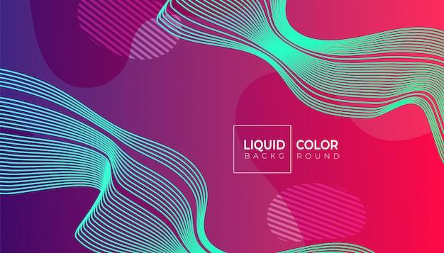 Composition de formes fluides pour brochure web