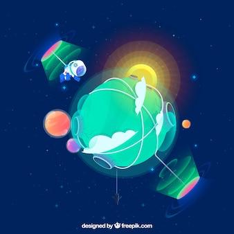 Composition galactique moderne
