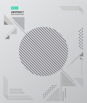 Composition géométrique abstraite forme fond moderne