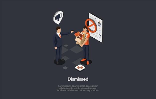 Composition isométrique du licenciement du travail