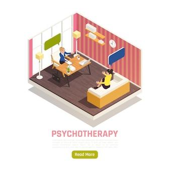 Composition isométrique du traitement de psychothérapie de conseil individuel