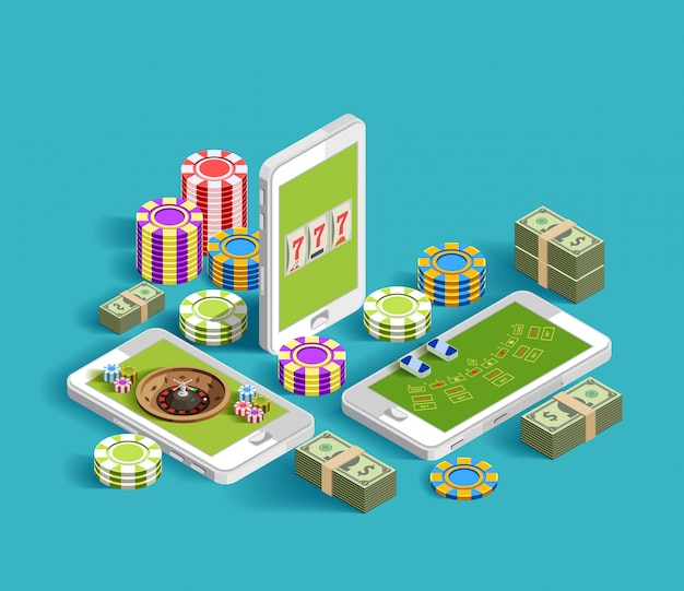 Composition de jeu électronique de casino