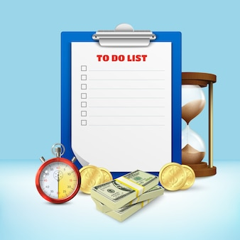 Composition de la liste de tâches