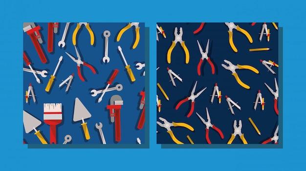 Composition des outils de construction
