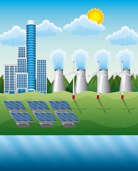 Composition de la production d'électricité