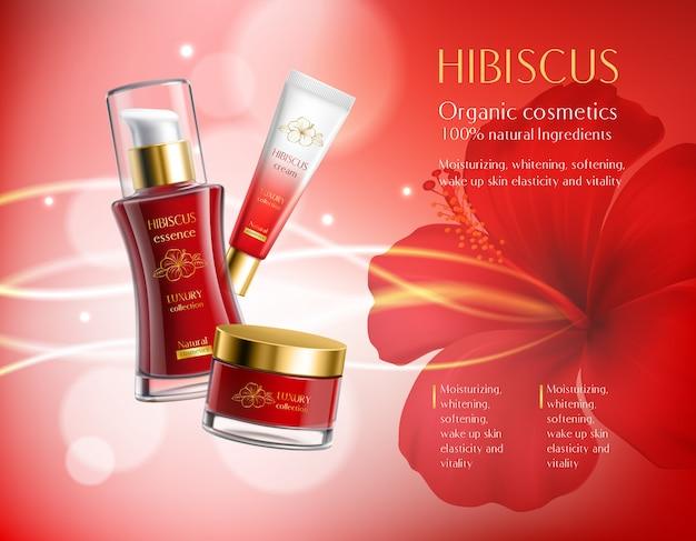 Composition de produits cosmétiques